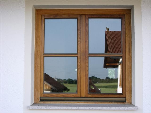 Holzfenster in Eiche natur geölt Aussenseite