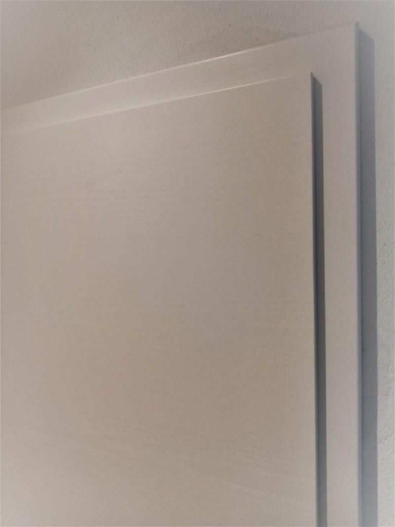 Esche weiß mit Struktur, Detailansicht
