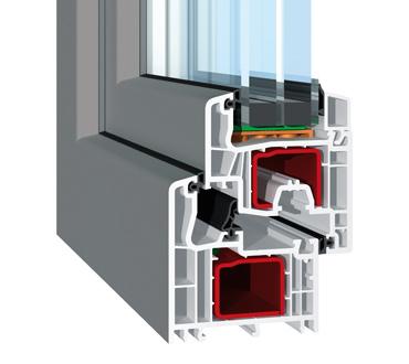 SL-Fensterprofil-Antazit